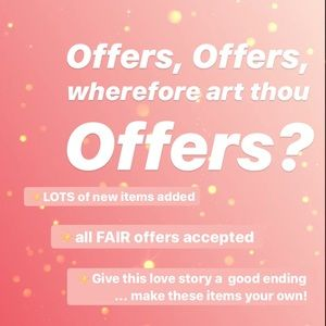 Other - All reasonable offers accepted!!!